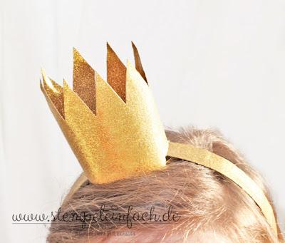 Krone basteln