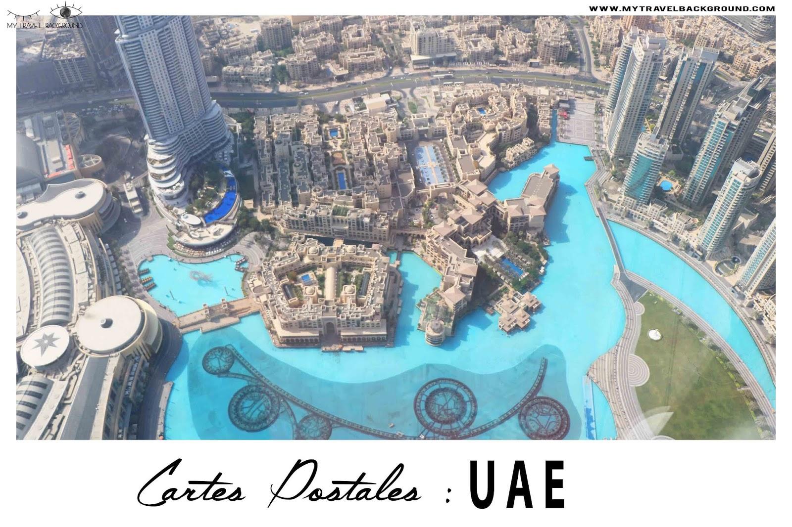 My Travel Background : cartes postales des Emirats Arabes Unis