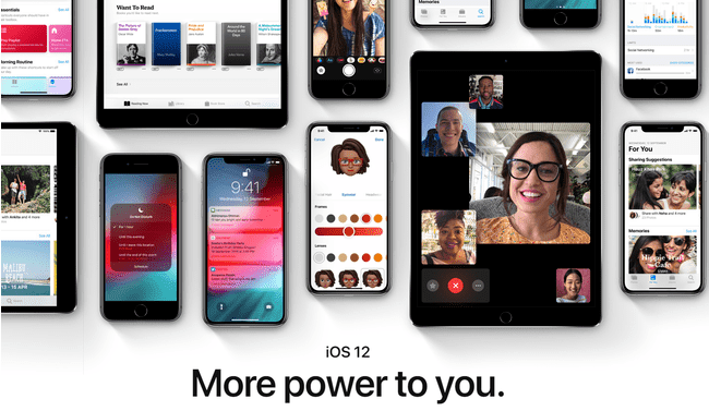 Apple iOS 12 for iPhones and iPad