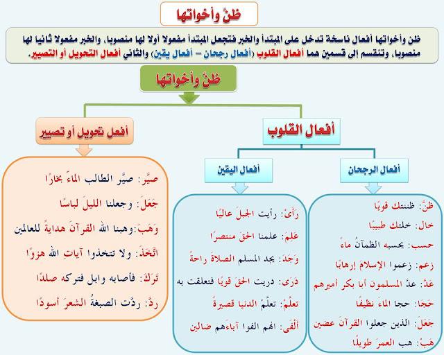 """انفراد.... كل قواعد اللغة العربية لطلاب """"ابتدائي - اعدادي - ثانوي"""" في صورة لوحات مبسطة مع الشرح والتدريبات 71"""