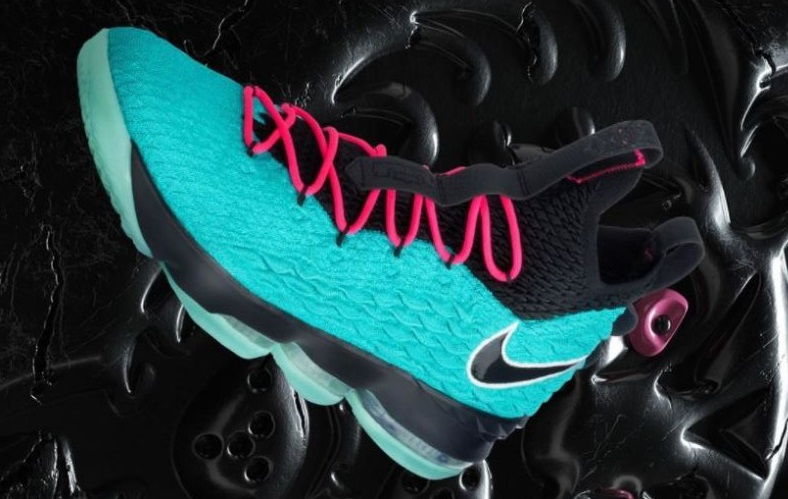 272f79b034a03 THE SNEAKER ADDICT  Nike Lebron 15  South Beach  Sneaker (Detailed Look)