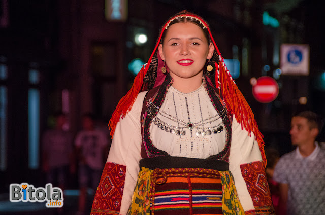 Macedonian national costume - Ethnic area Porece