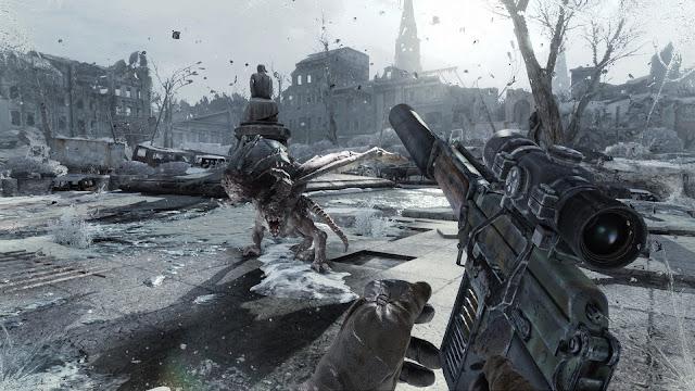 تحميل لعبة Metro 2033 Redux للكمبيوتر من ميديا فاير