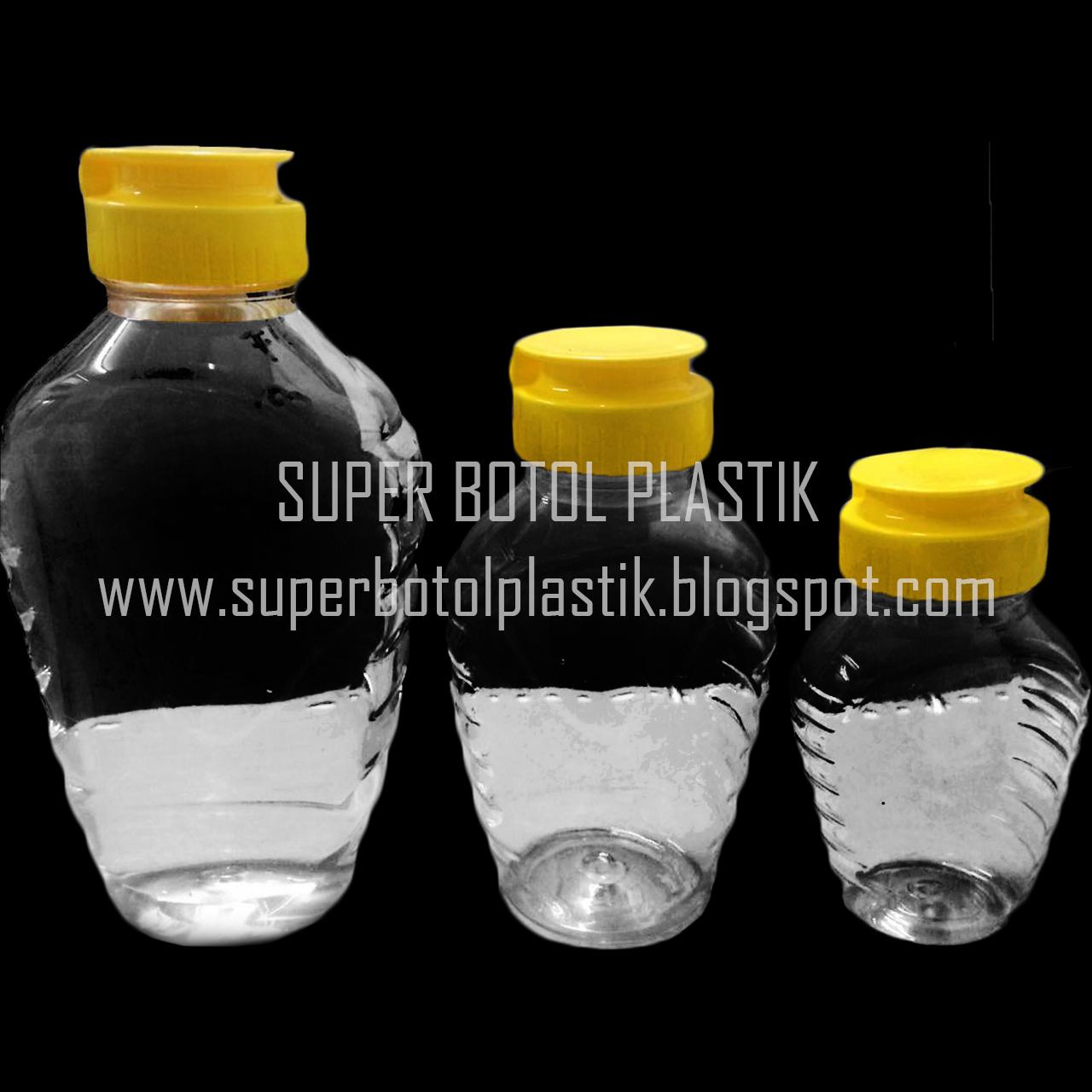 Jual Botol Madu Tj 400 Ml 200 100 Plastik Pet Ps 250