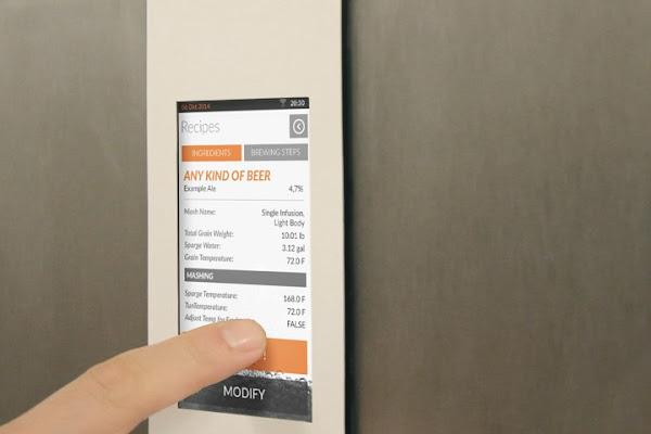 也可以透過螢幕設定 Brewie ,數位時代翻攝自 Brewie 網站。