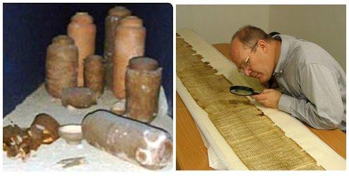 Resultado de imagen de Rollos del Mar Muerto
