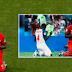 UM CATÓLICO E UM EVANGÉLICO: jogadores rezam após jogo da Copa e internet aplaude