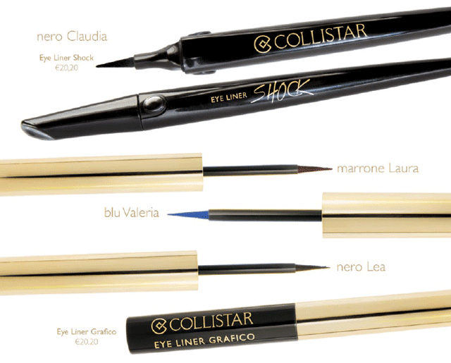 bellezza italiana - eye liner collistar