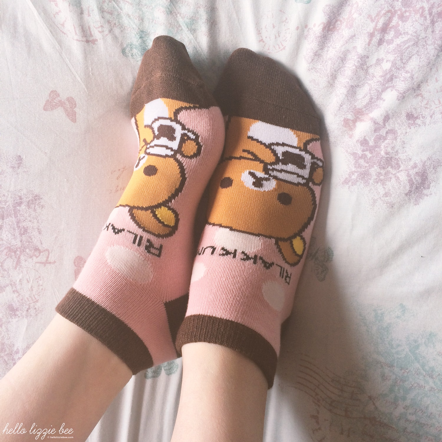 rilakkuma socks, kawaii gyaru shop