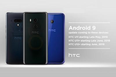 Android Pie untuk HTC