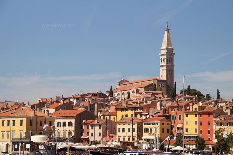 Reiseziel für den nächsten Sommerurlaub am Mittelmeer: Farbenfrohes Rovinj, Istrien (Kroatien)