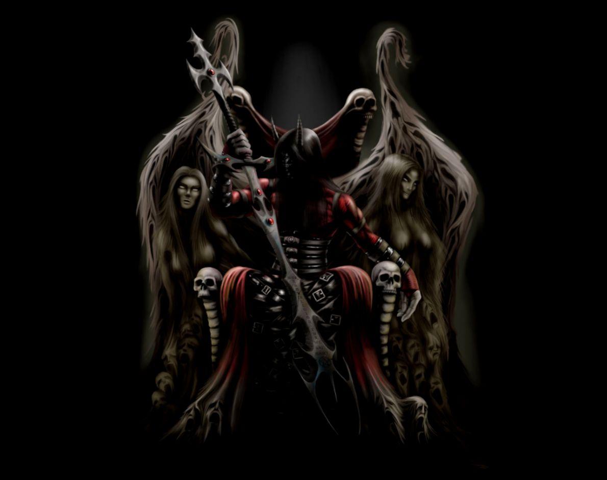 Dreamy Fantasy Demons Darkness Artwork Creative Wallpaper
