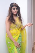 Sony Charista sizzling look in saree-thumbnail-1