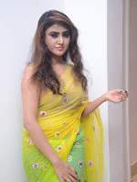 Sony Charista sizzling look in saree-cover-photo
