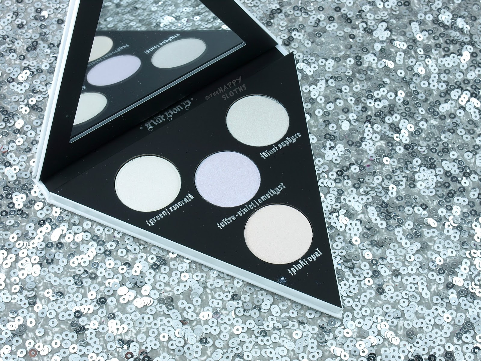 Kat Von D Alchemist Holographic Palette: Review and Swatches