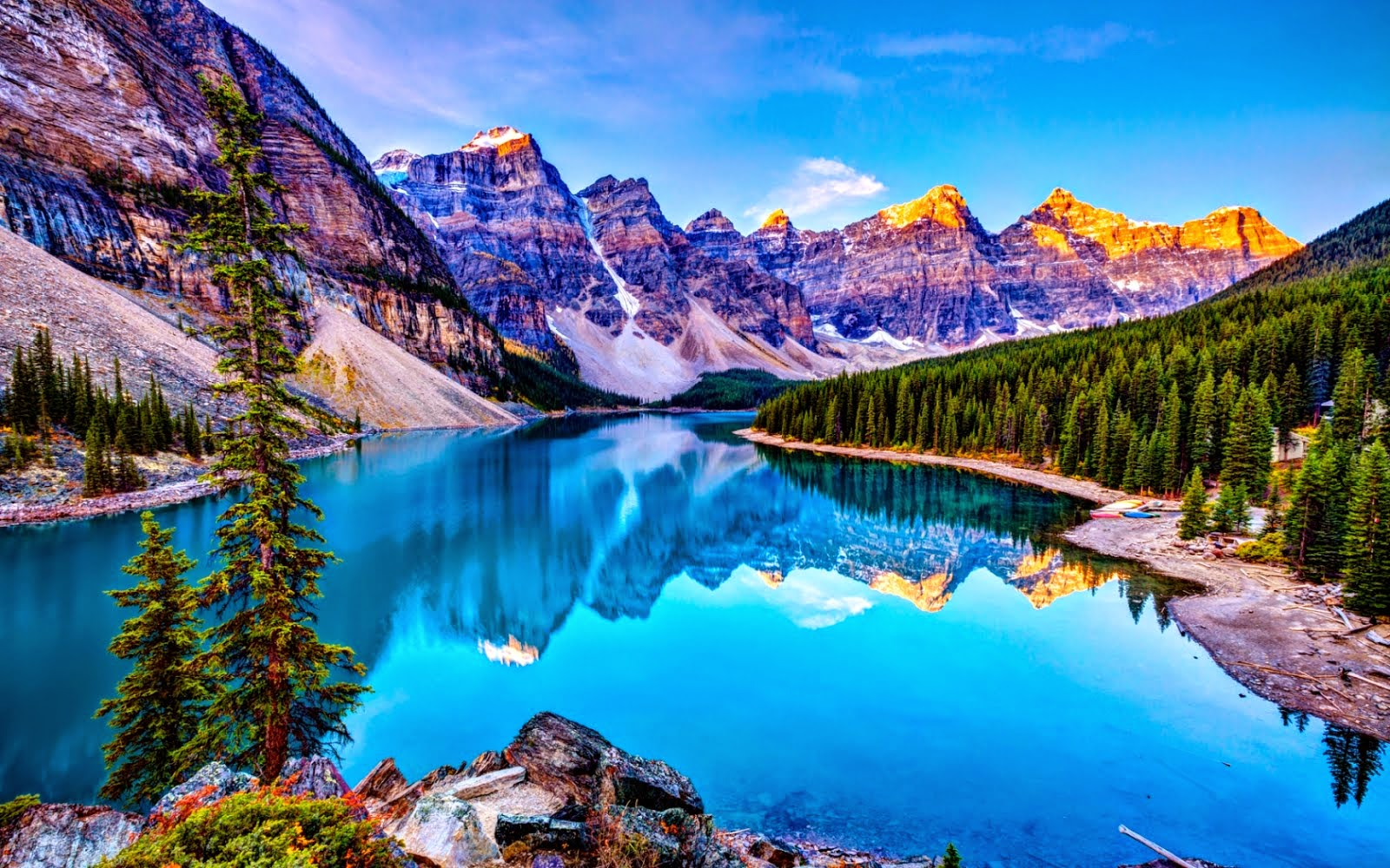 places natural amazing canada lake experience nature ten moraine holiday alberta peaks valley