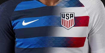 best service 57796 62d42 What If Awesome Nike USA 2018 Home x Away Kit Concept by La Casaca