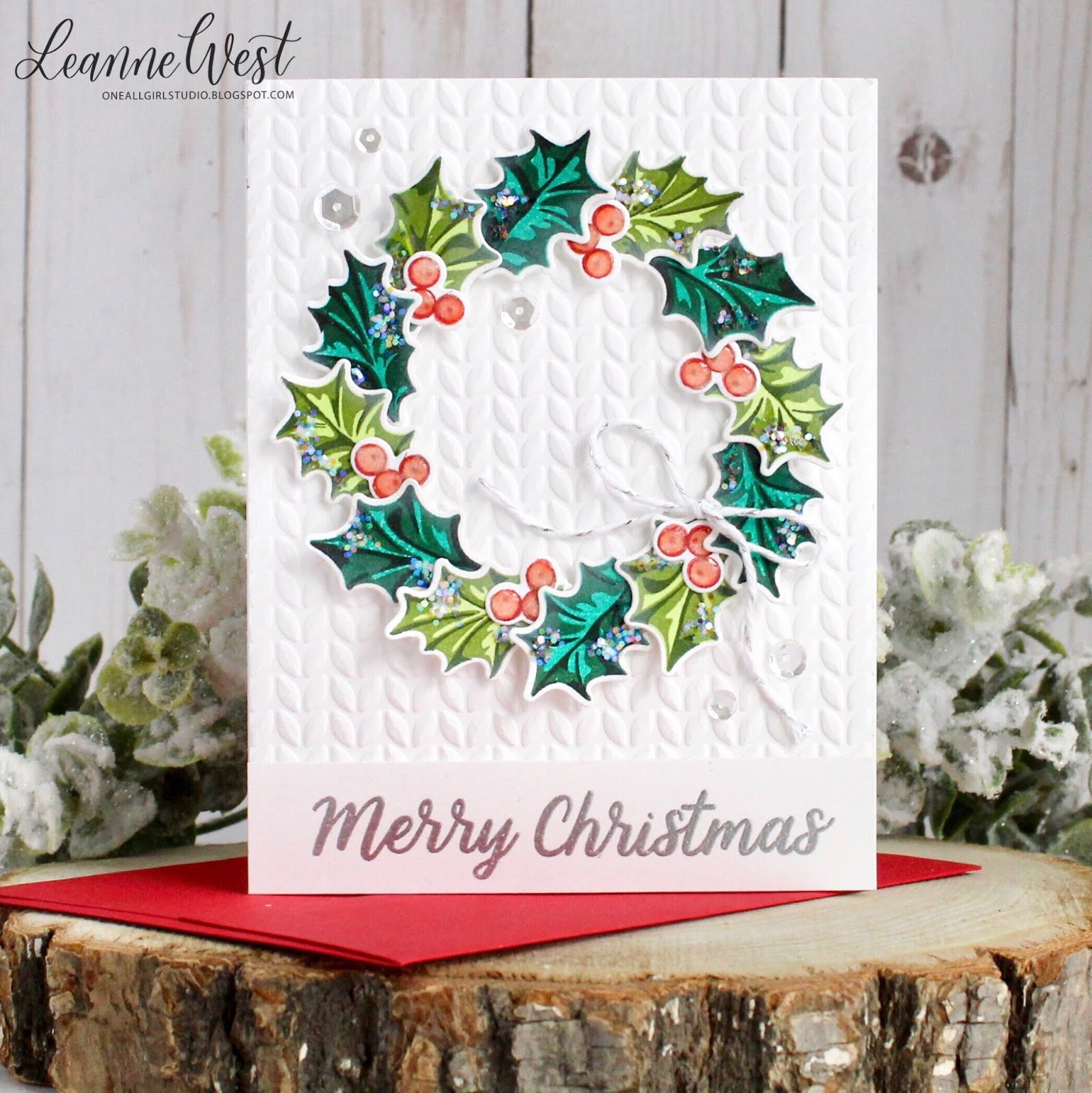 Sunny Studio: Guest Designer Spotlight: Christmas Cards with Leanne West