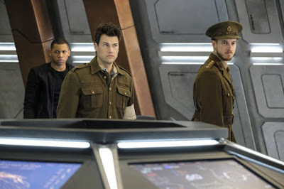 Legends of Tomorrow 2x17 Aruba Jefferson Jackson Nate Heywood Rip Hunter