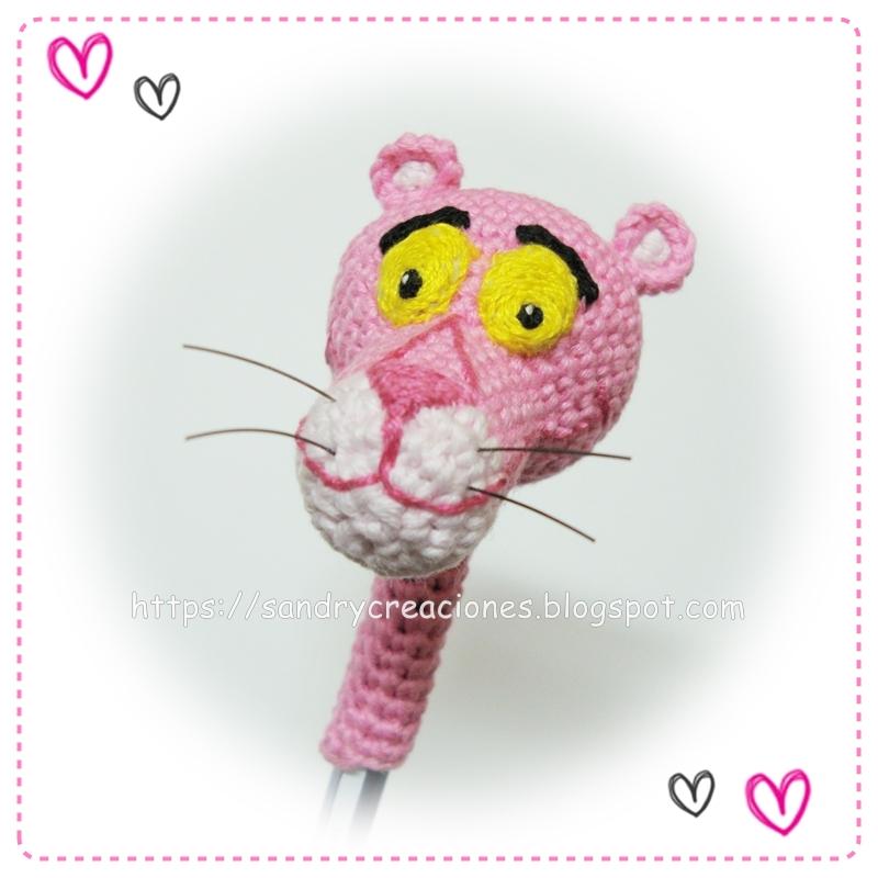 Pantera Rosa - Amigurumi - Patrón Español ~ Crochet para Ti | 800x800