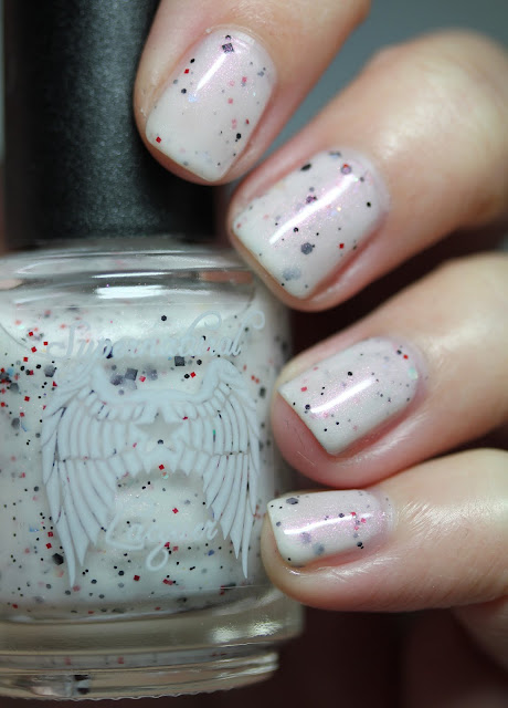 Supernatural Lacquer The Devil Wears Spots nail polish