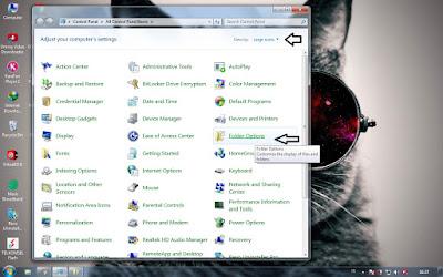 cara menyembunyikan folder atau file di windows 7