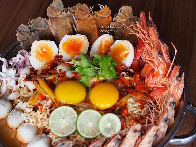Pim's Super Seafood Tom Yum Pot  3-5 pax For RM 158