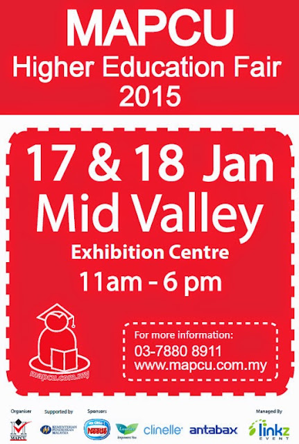 MAPCU Higher Education Fair 2015