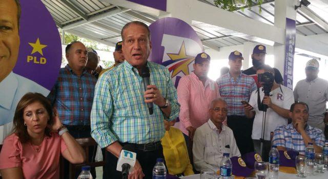 A esto yo le llamo una burla: Reinaldo Pared promete sancionar funcionarios corruptos si gana las elecciones
