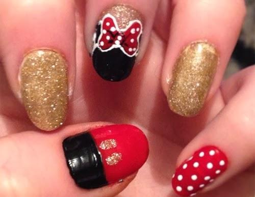Lindisima Blog Uñas Decoradas Con Minnie Mouse