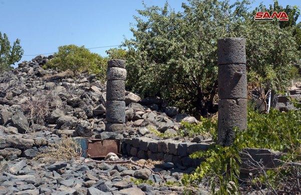 موقع سيع الأثري في السويداء نقطة جذب سياحي لعشاق الأثار.(صور)