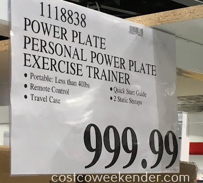 Deal for the Power Plate Personal Power Plate at Costco
