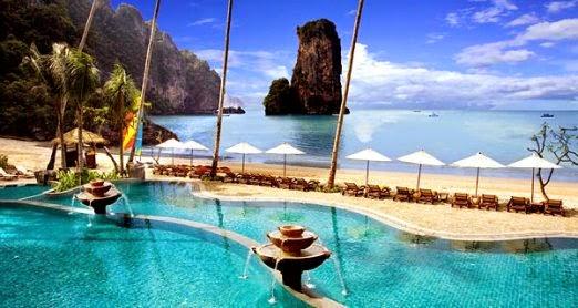 Luxury On The Beach Hotels In Krabi Thailand