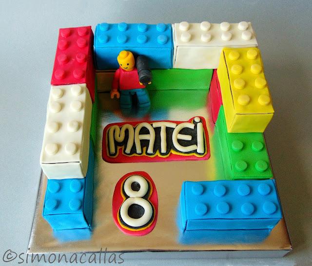 Tort Lego Lego Cake 1