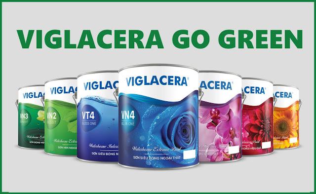 Sơn Viglacera Go Green