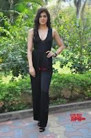 Sakshi Chaudhary in beuatiful black Deep neck Top and trousers at oollo pelliki kukka ~  Exclusive Galleries 036.jpg