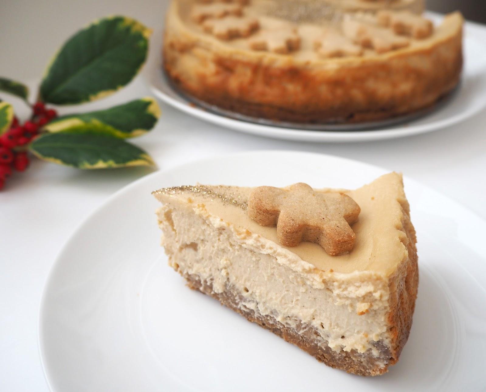 Gingerbread Cheesecake Recipe | Katie Kirk Loves