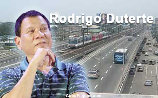 Duterte's plan to ease Metro Manila's transportation woes