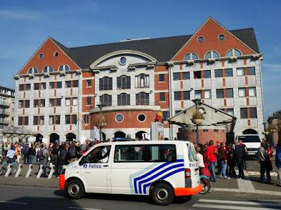 Manifestation à Namur à l'occasion de la journée mondiale de la lutte contre la pauvreté du 17 octobre 2018