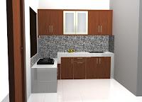 Lemari Dapur Atas Kuat Menggantung di Dinding furniture semarang