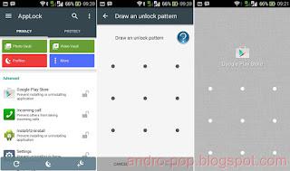 Cara Amankan Aplikasi SMS, BBM, Gallery dan File di Android