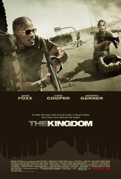Poster of The Kingdom 2007 720p Hindi BRRip Dual Audio Full Movie Download