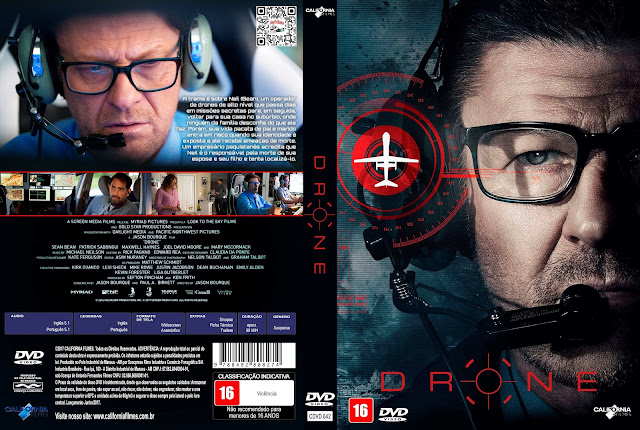 Capa DVD Drone [Custom]