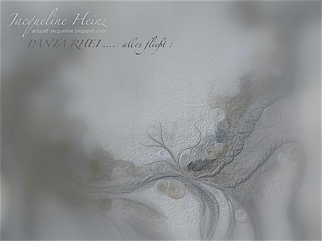 Atelier von Jacqueline Heinz, Wolfenbüttel, Germany, Quilt - textiler Wandbehang