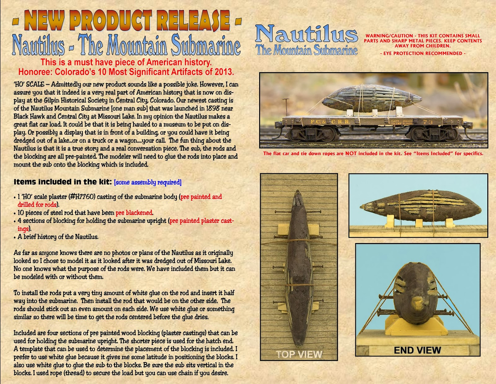 Morse Productions Model Railroad Products