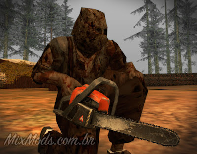 real chainsaw upgrade mod cleo gta sa