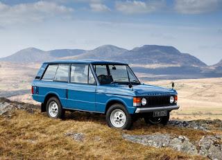 1970 Range Rover Classic 2 Door Front Left