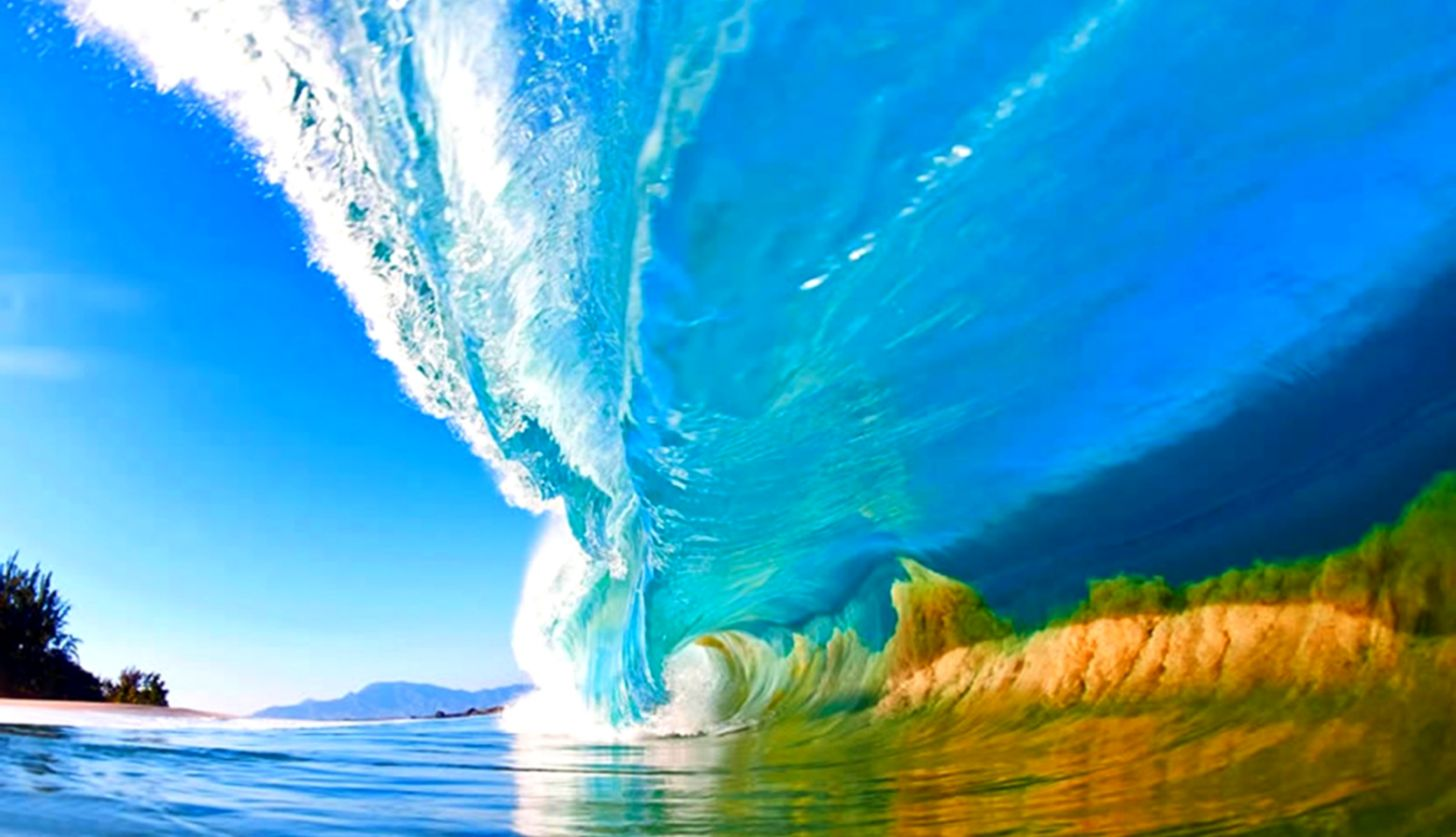 Hawaii Surfing Wave Picture Wallpaper Kingdom Wallpapers