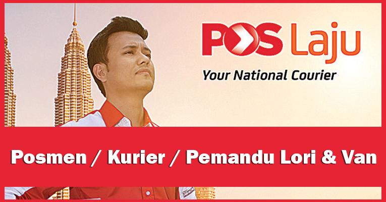 Posmen / Kurier / Pemandu Lori & Van