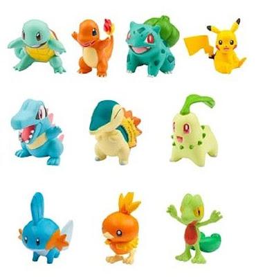 Takara Tomy Pokemon figure Moncolle 20th Anniversary Starter Set Vol 1 2 3